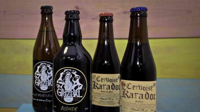 Bières Karadoc et Grizdal< Boutique < Office de Tourisme