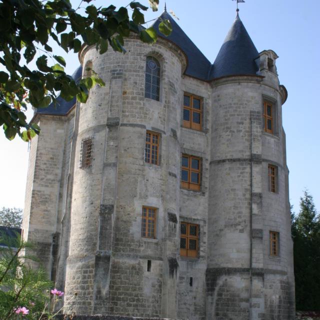 Le donjon < Vic-sur-Aisne