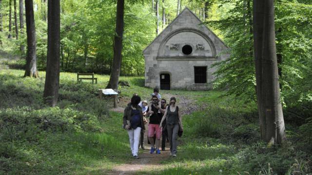 Visite Ermitage Saint Hubert < Forêt de Retz