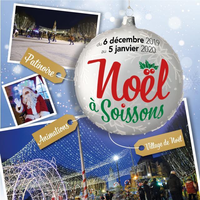 Noël à Soissons 2019 < Soissons