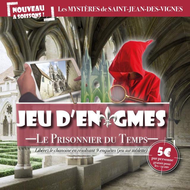 Jeu d'énigmes < Abbaye Saint-Jean-des-Vignes < Soissons