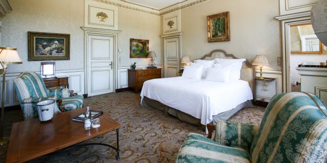 Prestige vue sur le Lit Pschaff < Château de Courcelles